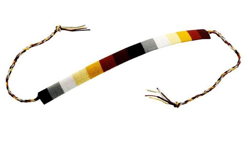 Armband med björnfärgerna - QX Shop 28079ead6efb3