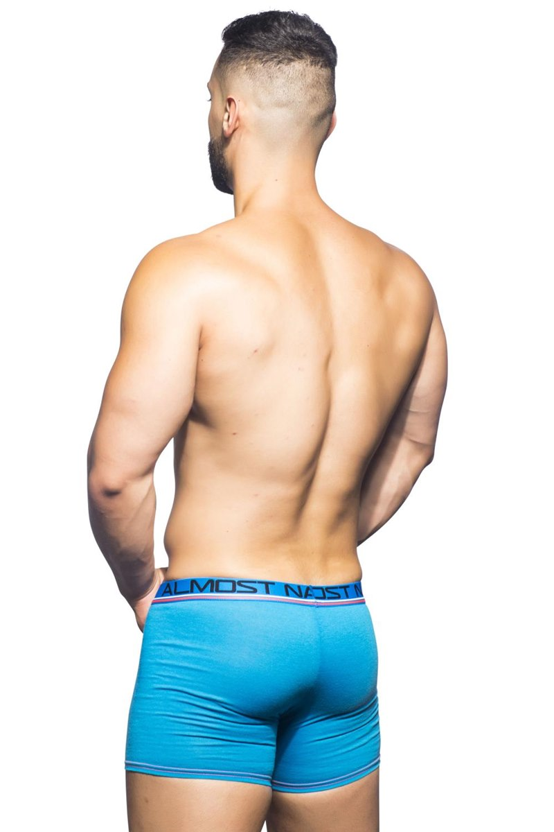 Almost Naked Sport Workout Boxer Electric Blue Qx Shop