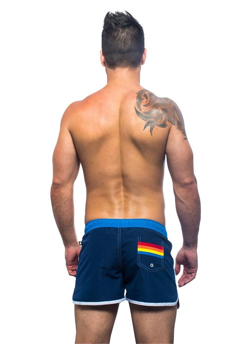Rainbow Pride Swim Shorts - QX Shop